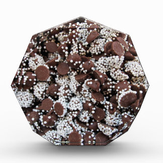 Chocolate Chip Print With White Sprinkles Award
