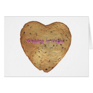 Chocolate Chip Wedding in Vegas Cookie Card