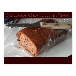 Chocolate Chip Zucchini Bread post card