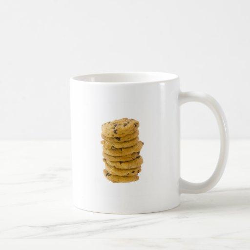 Chocolate chips cookies mug