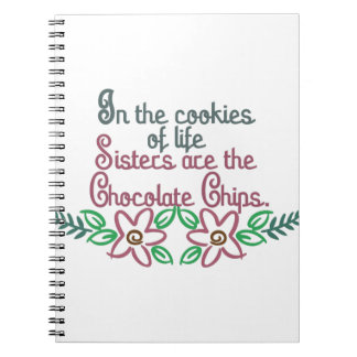 Chocolate Chips Spiral Notebook