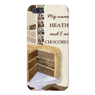 Chocolate Chocoholic Cake n Candy Swirls Cell Case