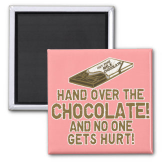 Chocolate Chocoholic Magnet