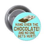Chocolate Chocoholic Pin Redondo 5 Cm