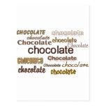 Chocolate Chocolate Chocolate Post Cards