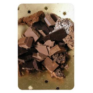 Chocolate chunks magnet