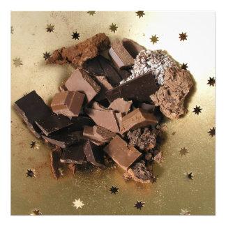 Chocolate chunks photo art