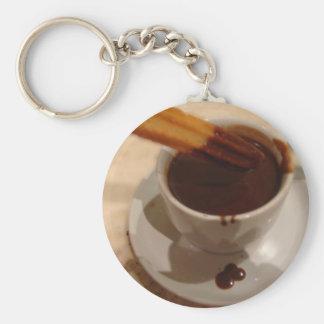Chocolate & Churros Keychain