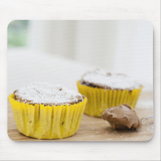 Chocolate Coconut Cupcakes Mousepad