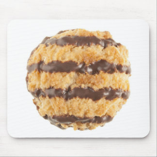 Chocolate Coconut Macaroon Mouse Pad