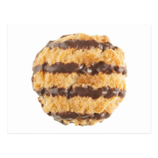Chocolate Coconut Macaroon Postcard