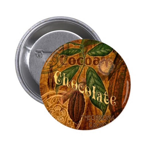 Chocolate Collage 2 Inch Round Button