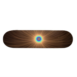 Chocolate Color Explosion Skateboard