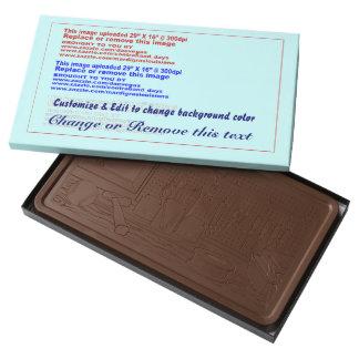 Chocolate con leche Barra-Taller de 2 libras Barra De Chocolate Con Leche Grande