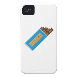 Chocolate con leche iPhone 4 Case-Mate coberturas