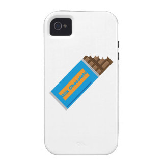 Chocolate con leche iPhone 4 funda