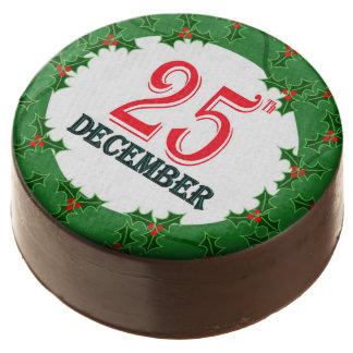 Chocolate con leche galletas imagen del 25 de
