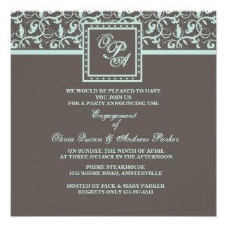 Chocolate Concerto Invitation