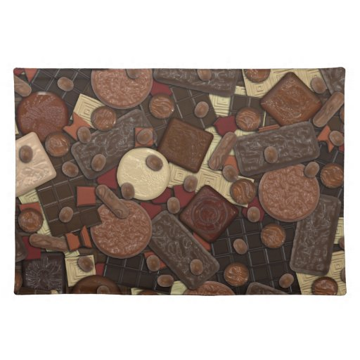 ¿Chocolate conseguido? Placemats Manteles Individuales