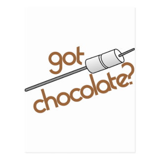 ¿Chocolate conseguido? Postales