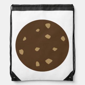 Chocolate Cookie Drawstring Backpack