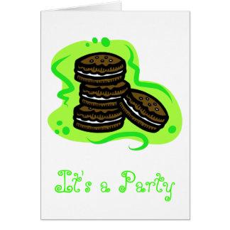 Chocolate Cookies Card