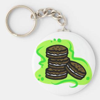 Chocolate Cookies Keychain