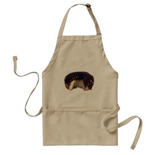 Chocolate Covered Donut Aprons