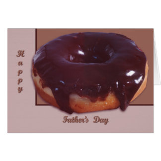 Chocolate Covered Donut Card