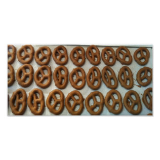 Chocolate Covered Pretzels Posters