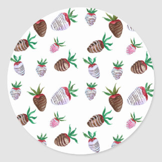 Chocolate Covered Strawberries Stickers