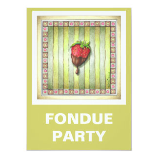 CHOCOLATE COVERED STRAWBERRY CARD