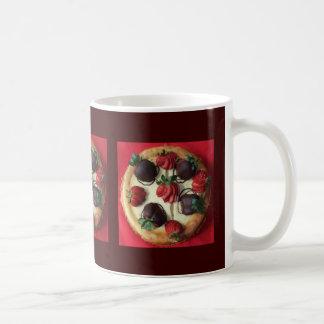 Chocolate Covered Strawberry Cheesecake Mug