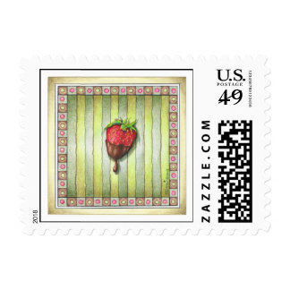 CHOCOLATE COVERED STRAWBERRY POSTAGE