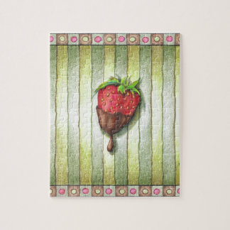 CHOCOLATE COVERED STRAWBERRY PUZZLES