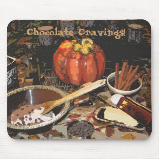 Chocolate Cravings Mouse Pads