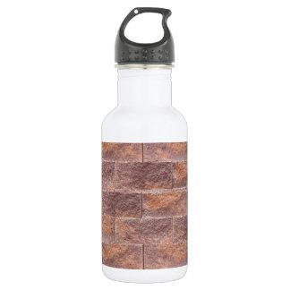 Chocolate Cream Biscuit Bricks : Add yr Text Water Bottle