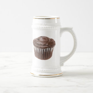 Chocolate Cupcake Beer Stein