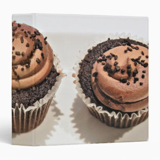 Chocolate Cupcake Binder