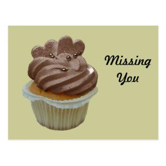 Chocolate Cupcake greeting cards