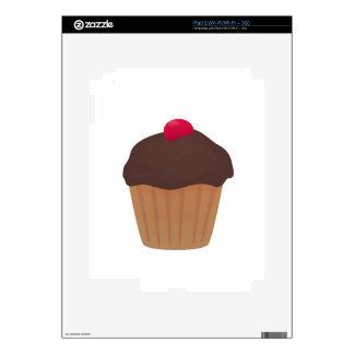 Chocolate Cupcake iPad 2 Decal