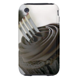 Chocolate cupcake iPhone 3 tough cover