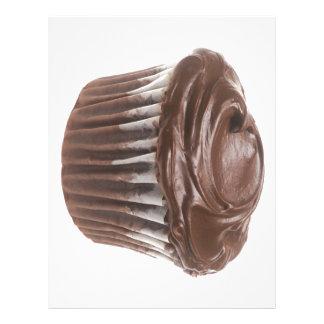 Chocolate Cupcake Letterhead