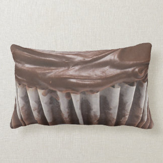 Chocolate Cupcake Lumbar Pillow