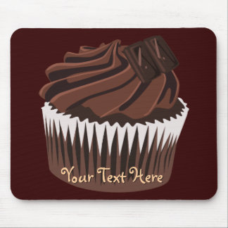 Chocolate Cupcake Mouse Pad