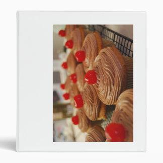 chocolate cupcake notecards binder