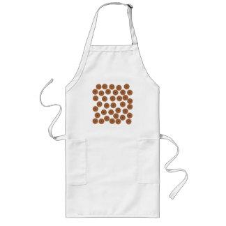 Chocolate Cupcake Pattern. Apron