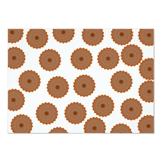 Chocolate Cupcake Pattern. Announcements