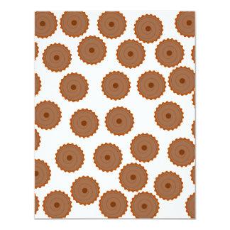 Chocolate Cupcake Pattern. Announcement