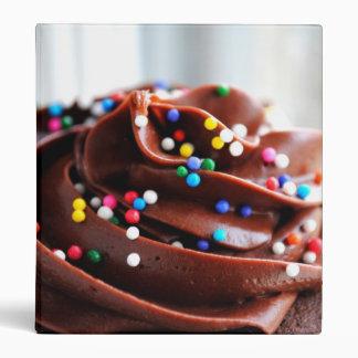 Chocolate Cupcake  Photograph Binder